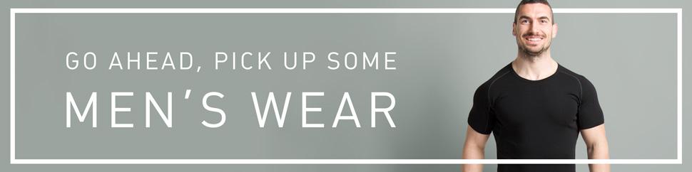 men's wear banner