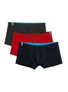 Памучни мъжки боксерки 3 броя различни цветове 0513 артикулно отпред