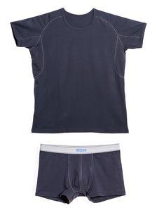 Памучна тениска с боксерки 0506 артикулно отпред