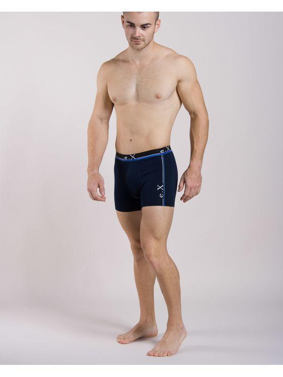 Мъжки тъмносини боксерки e.X 0504 на модел