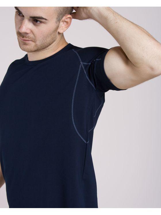 Памучна тениска с риглан ръкав + Боксерки 0506 допълнителна детайлна снимка