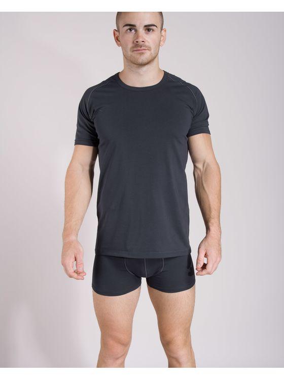 Памучна тениска с боксерки 0506 на модел
