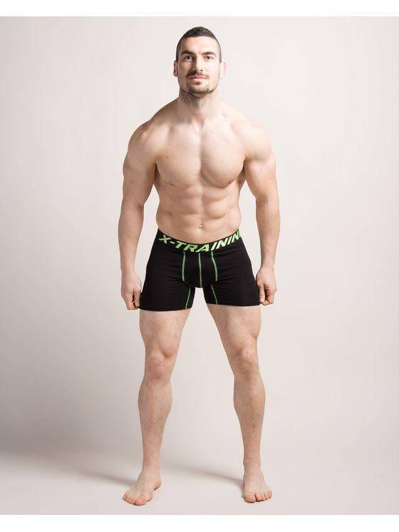 Спортни мъжки боксерки в зелено 0740 на модел