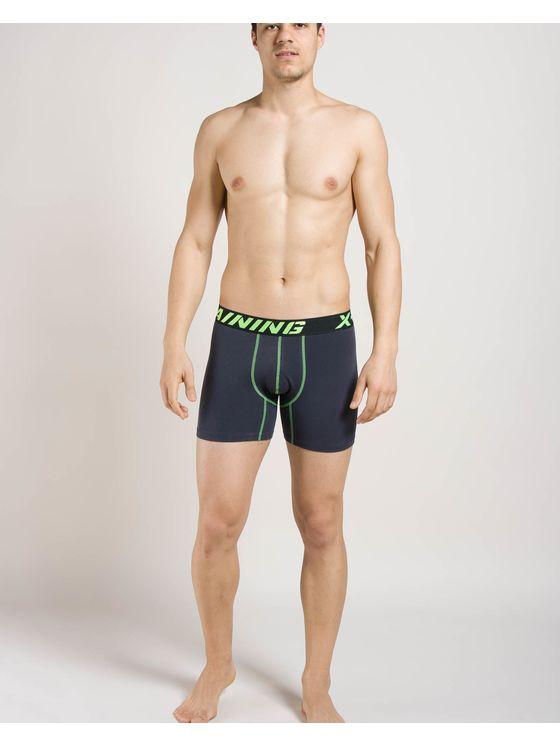 Мъжки спортни боксерки в цвят графит 0742 на модел