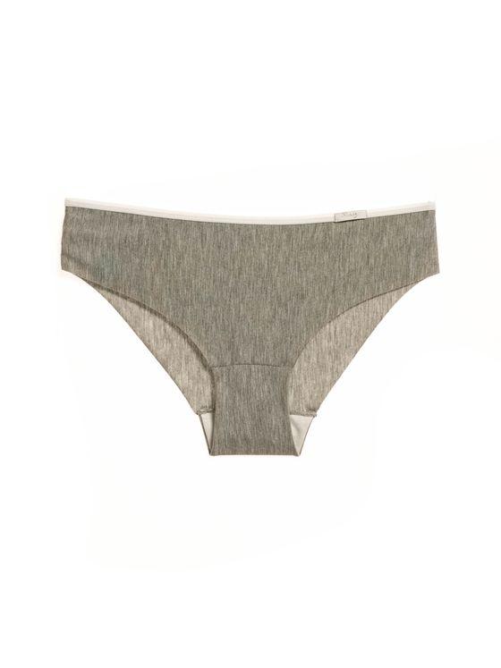 Лазерно изрязани бикини в сиво 0717 артикулно отпред