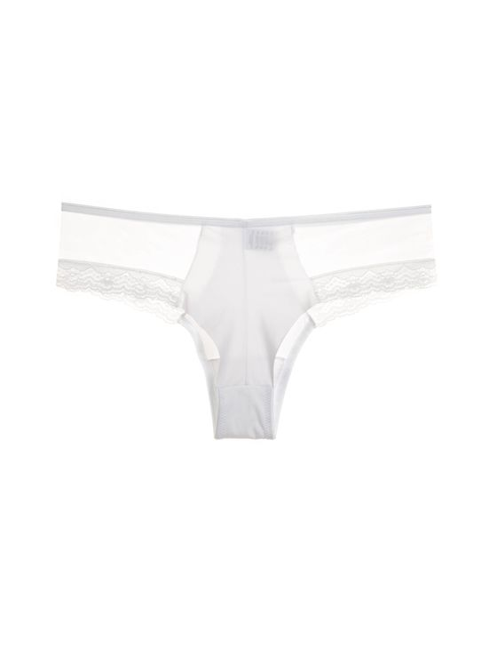 Лазерно изрязани бикини разилиана в бяло 1701 артикулно отзад