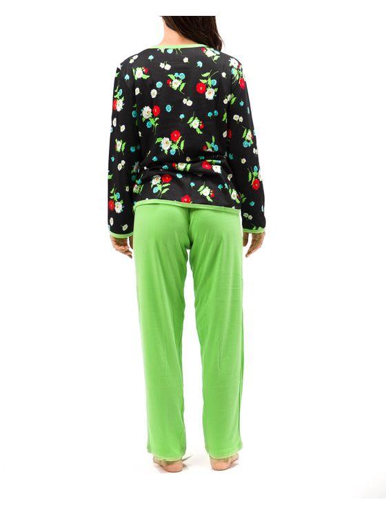 Дамска пижама  2035 на модел отзад