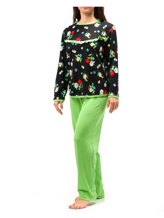Дамска пижама  2035 на модел отпред