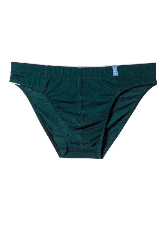 Мъжки слип Прикрит ластик, 0511, Зелени 0511 артикулно отпред